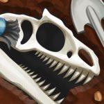 Dinosaur bone digging Game