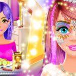 Face Paint Salon: Glitter Makeup Party Games