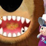 Masha And The Bear Dentist Game