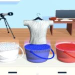 Tie Dyeing Cloths